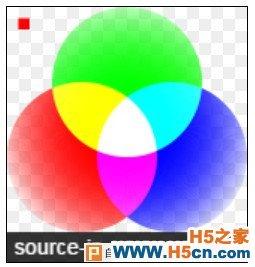 canvas的source-in合成模式